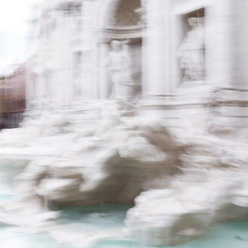 Camilla Colombo - Vedute urbane: Fontana di Trevi - Roma